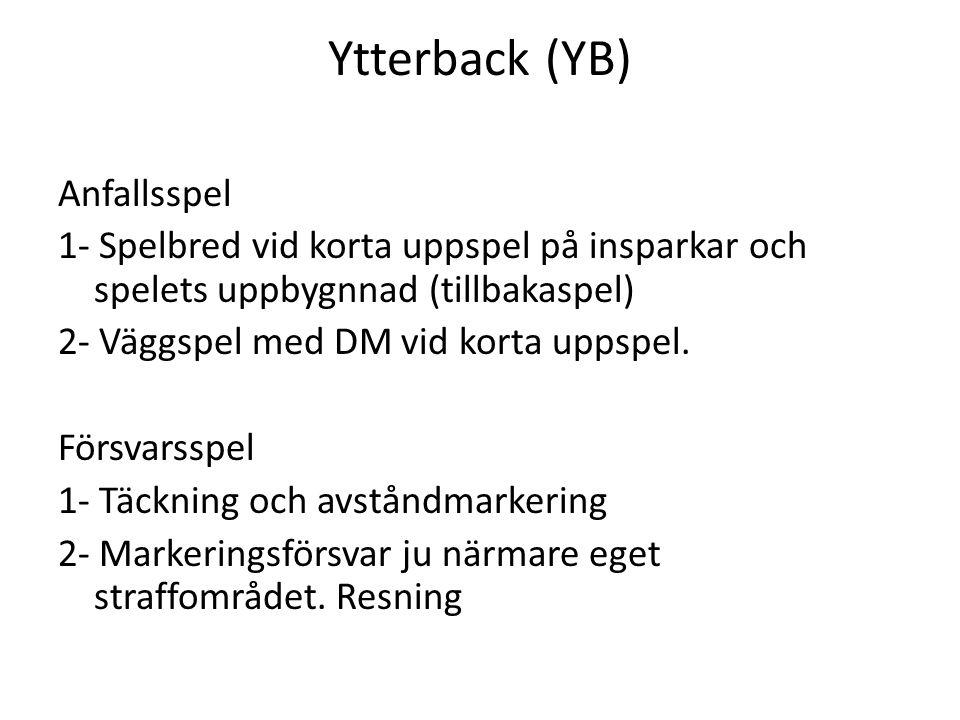 Ytterback (YB)