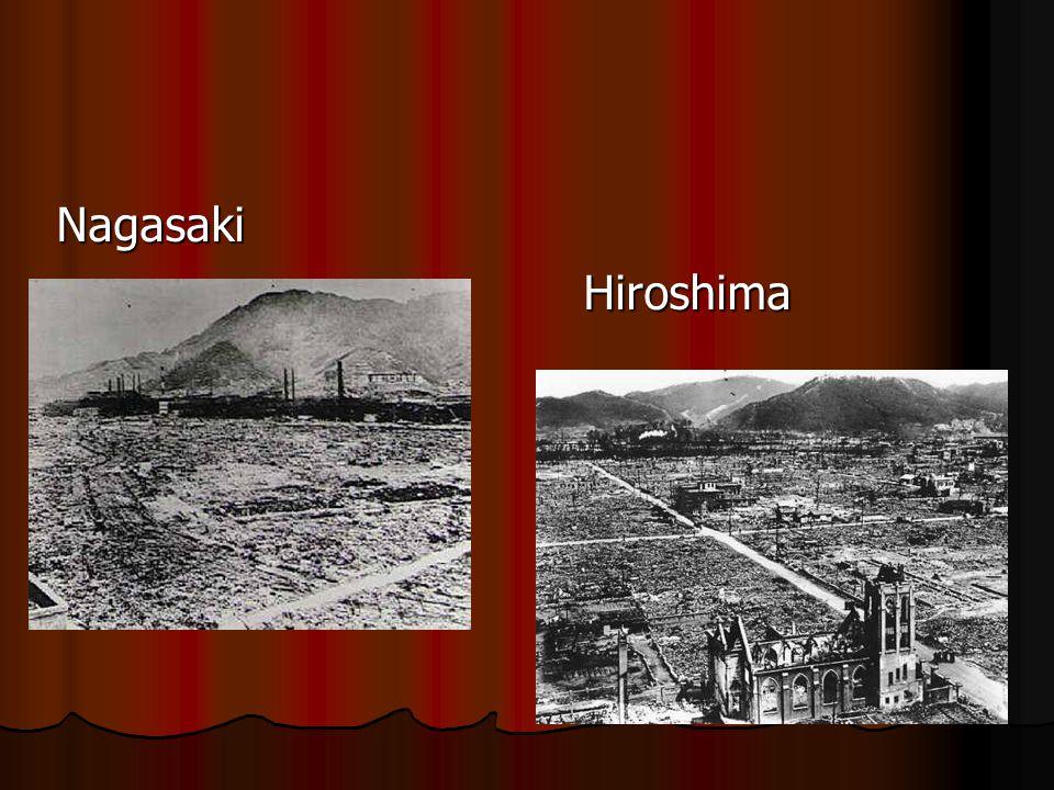 Nagasaki Hiroshima