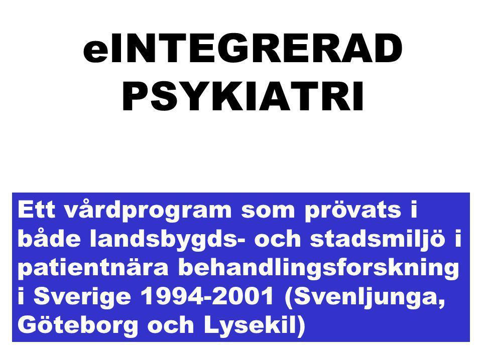 eINTEGRERAD PSYKIATRI