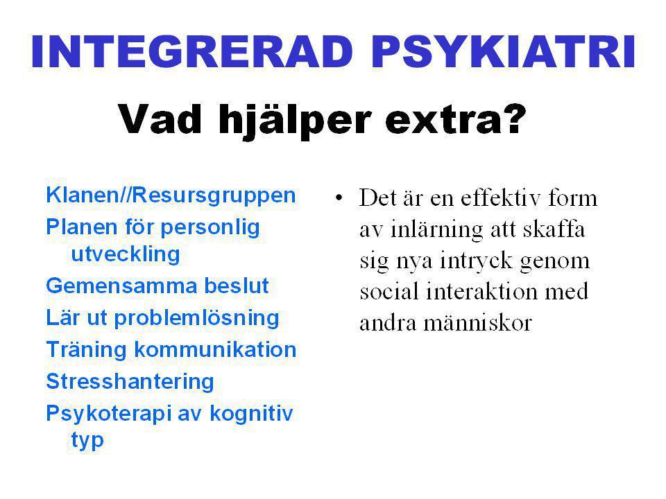 INTEGRERAD PSYKIATRI