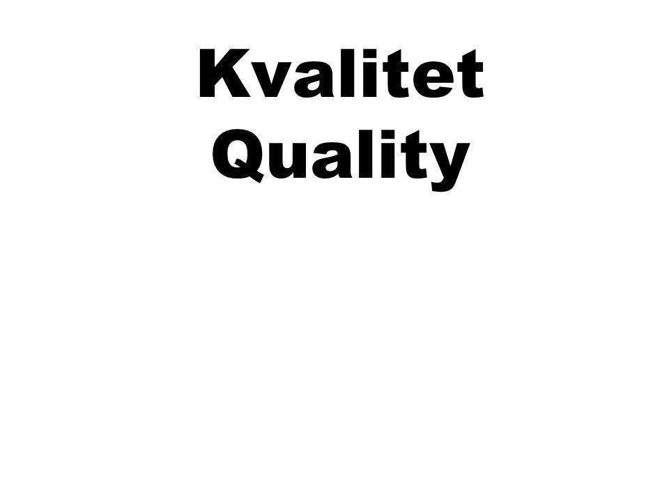 Kvalitet Quality