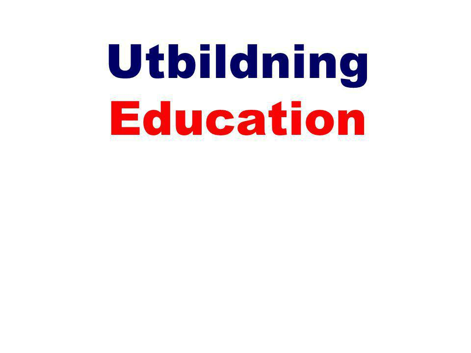 Utbildning Education