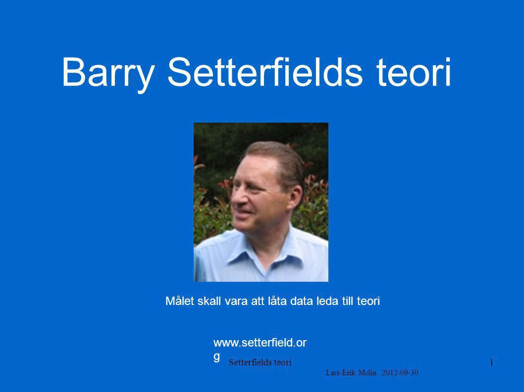 Barry Setterfields teori