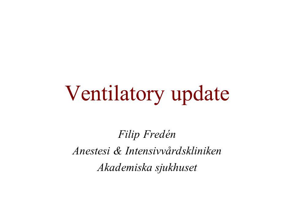 Filip Fredén Anestesi & Intensivvårdskliniken Akademiska sjukhuset