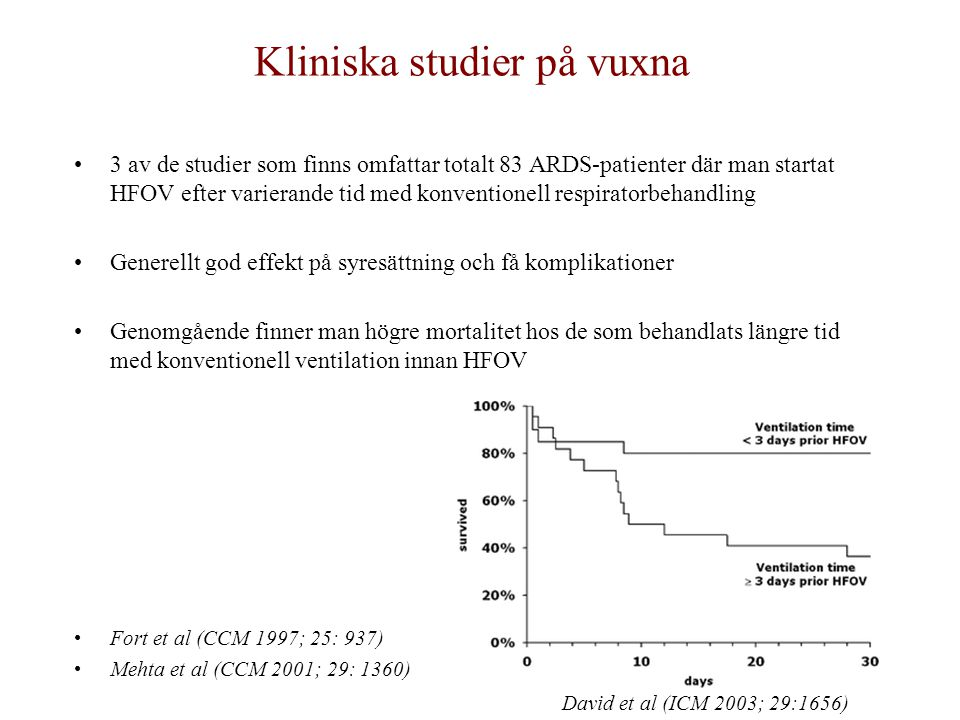 Kliniska studier på vuxna