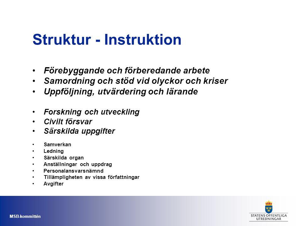 Struktur - Instruktion