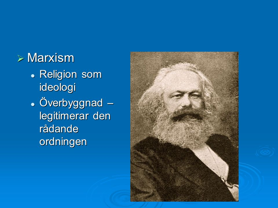 Marxism Religion som ideologi