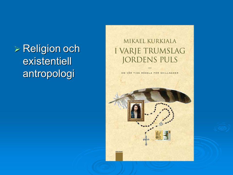 Religion och existentiell antropologi