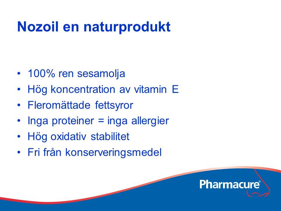 Nozoil en naturprodukt
