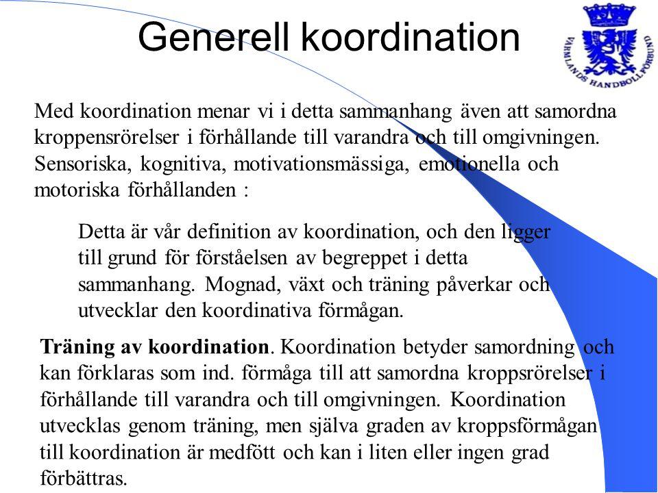 Generell koordination