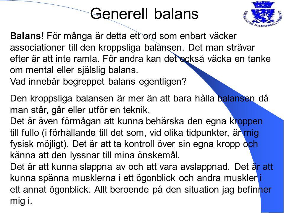 Generell balans