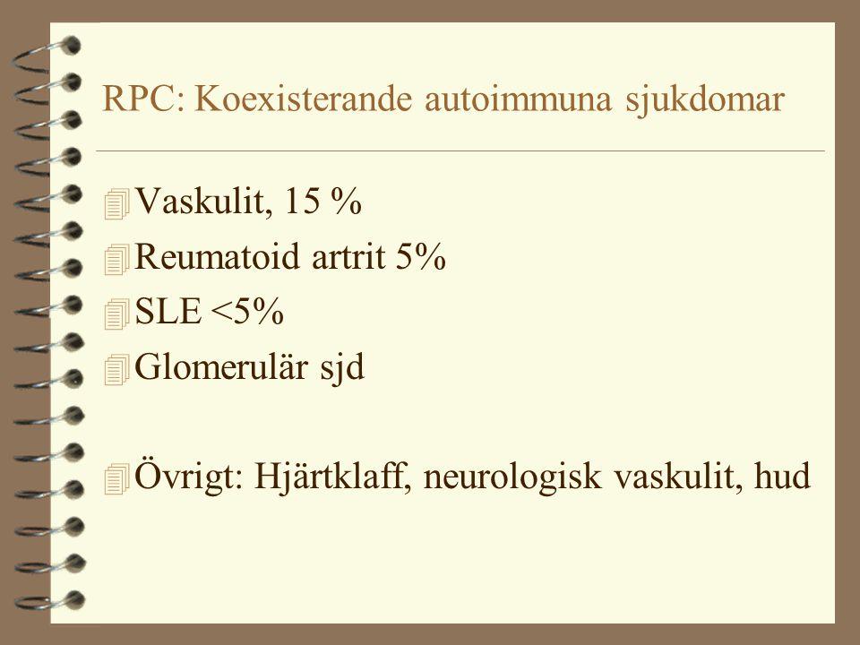 RPC: Koexisterande autoimmuna sjukdomar