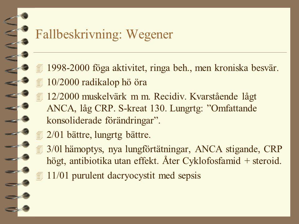 Fallbeskrivning: Wegener