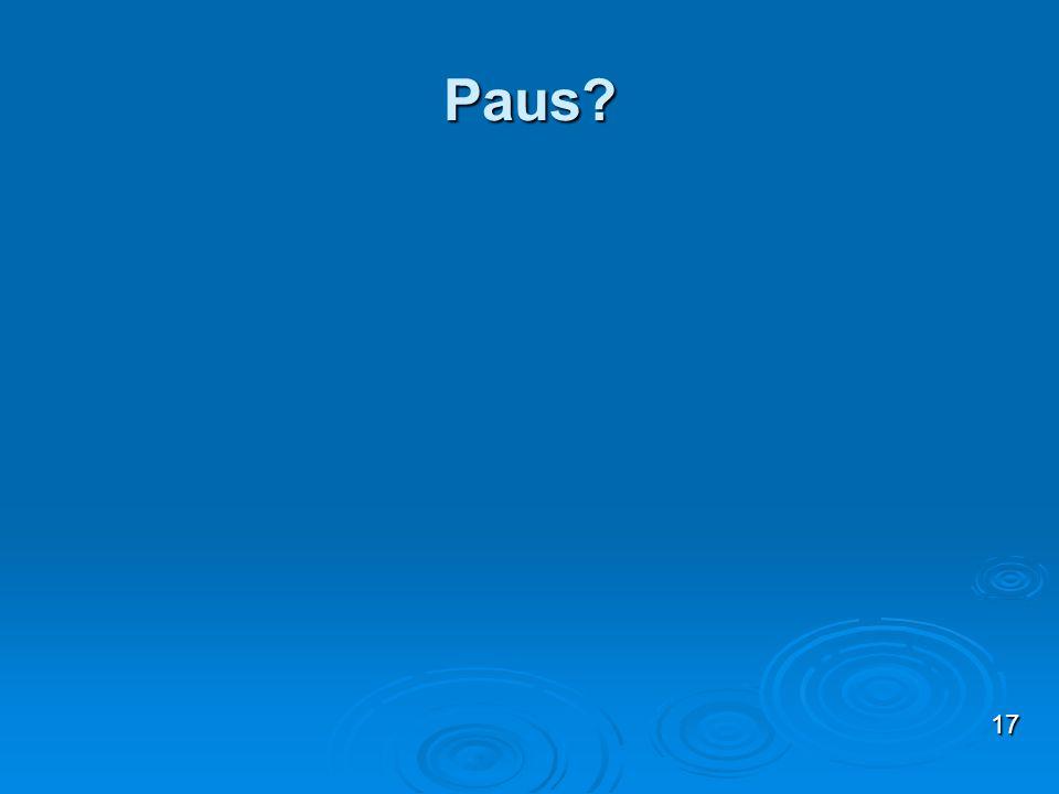 Paus 17