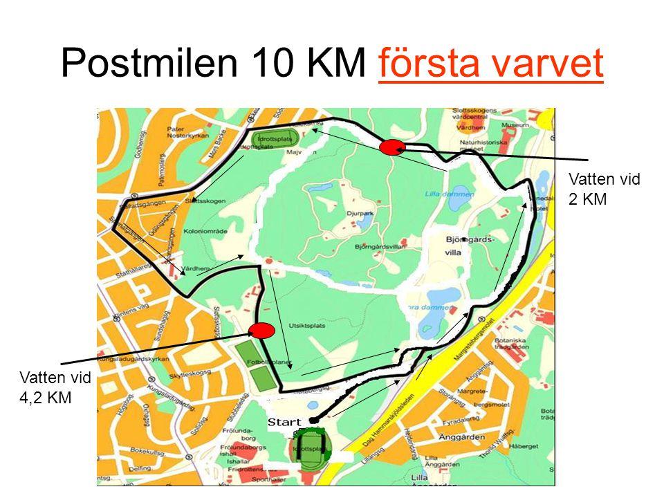 Postmilen 10 KM första varvet