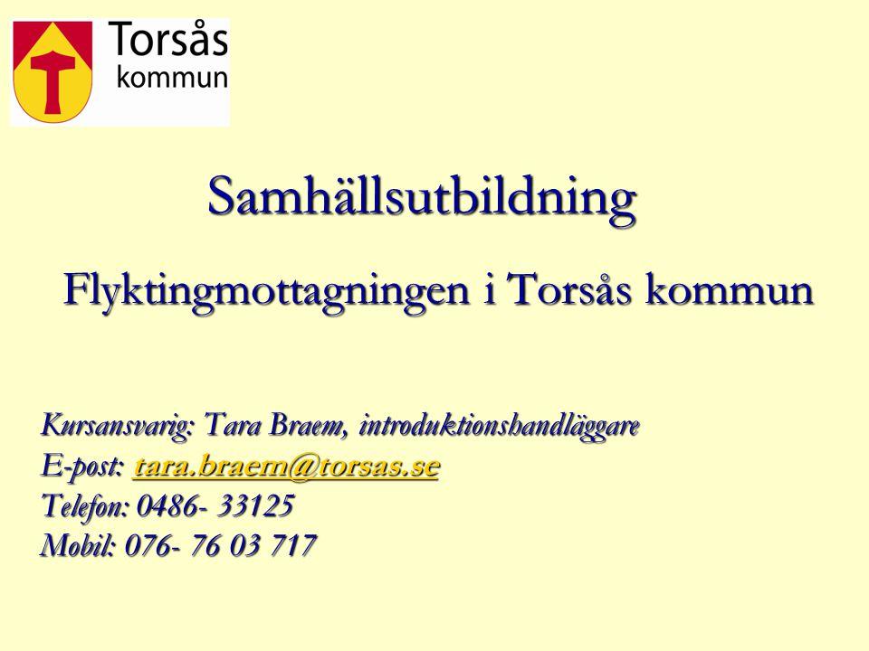 Flyktingmottagningen i Torsås kommun