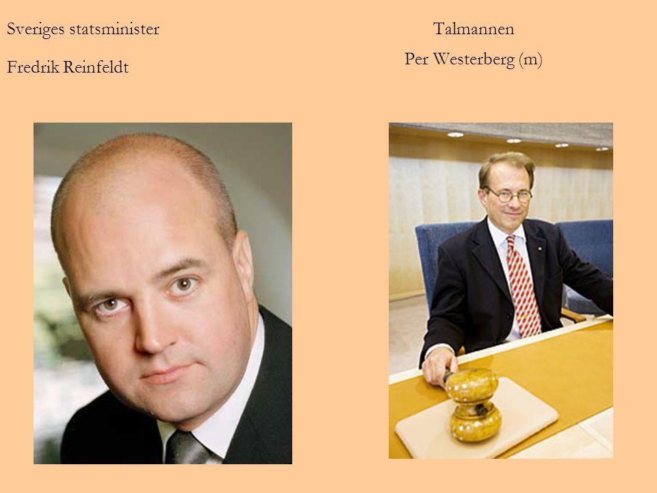 Talmannen Per Westerberg (m)