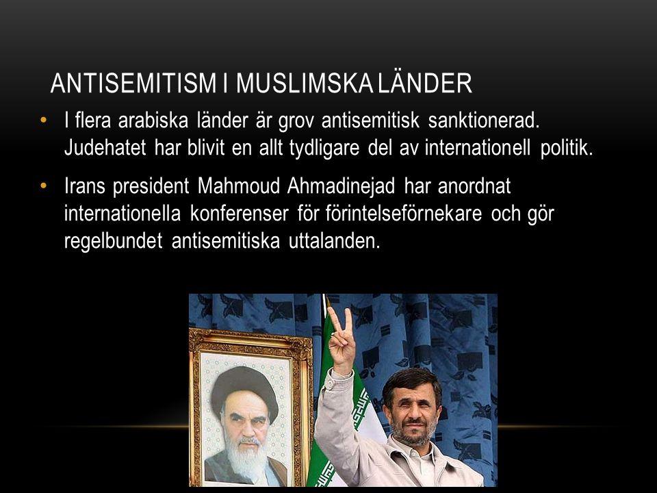 Antisemitism i muslimska länder