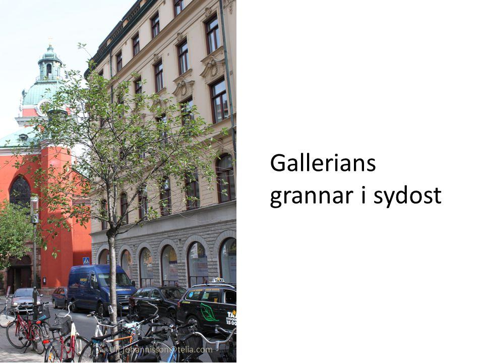 Gallerians grannar i sydost