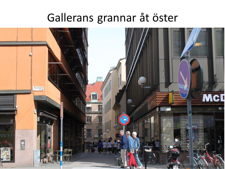 Gallerans grannar åt öster