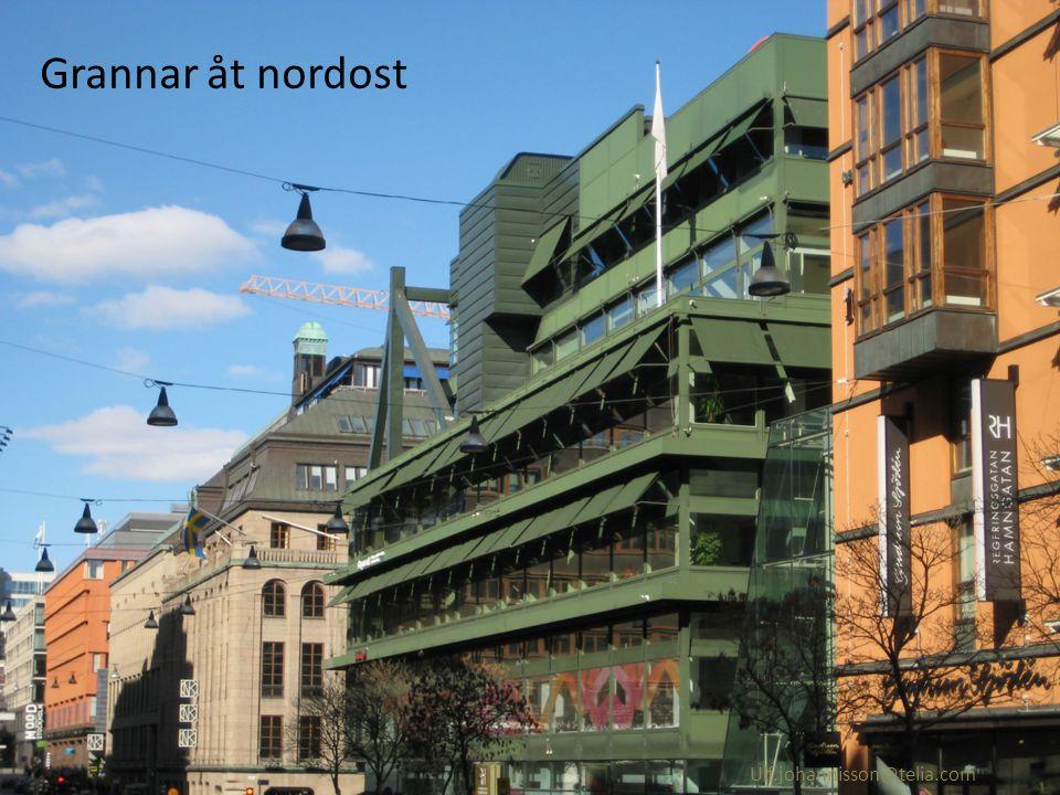 2012 Gallerians grannar åt öster