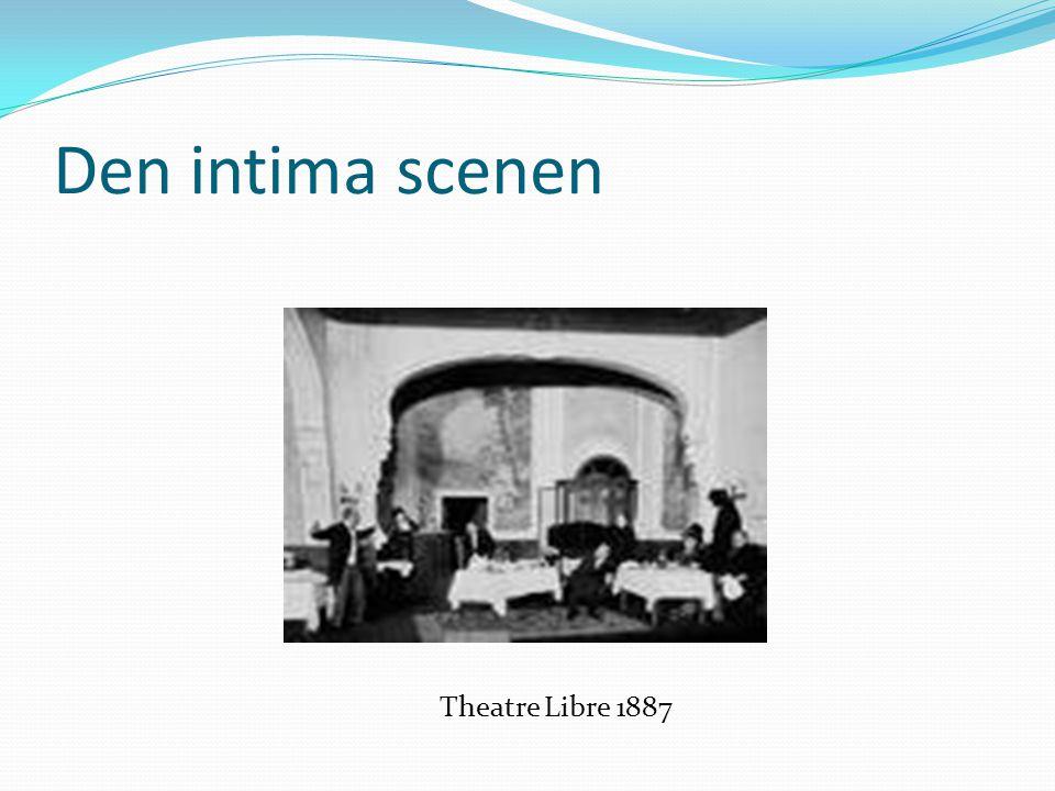 Den intima scenen Theatre Libre 1887