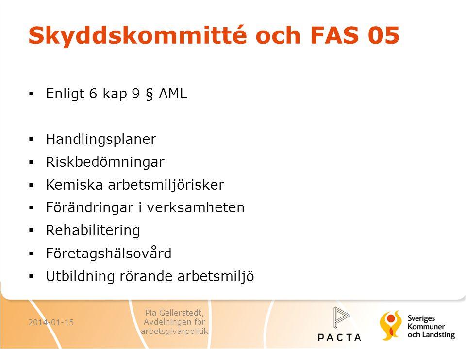 Skyddskommitté och FAS 05