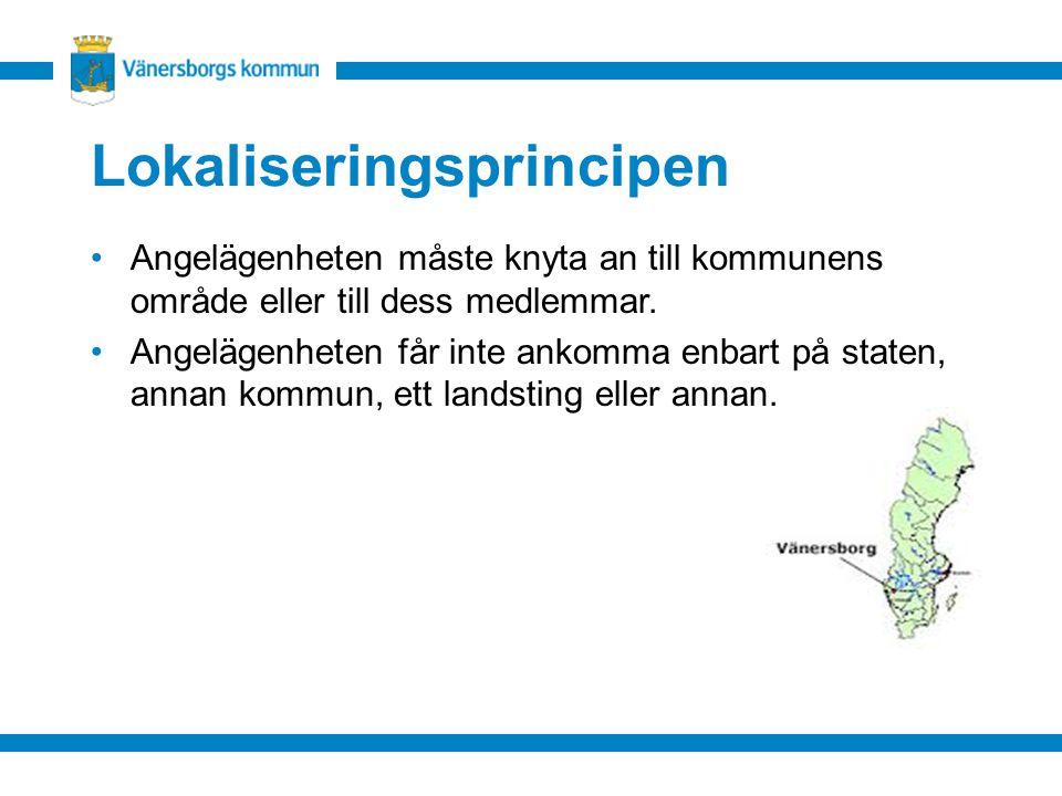 Lokaliseringsprincipen