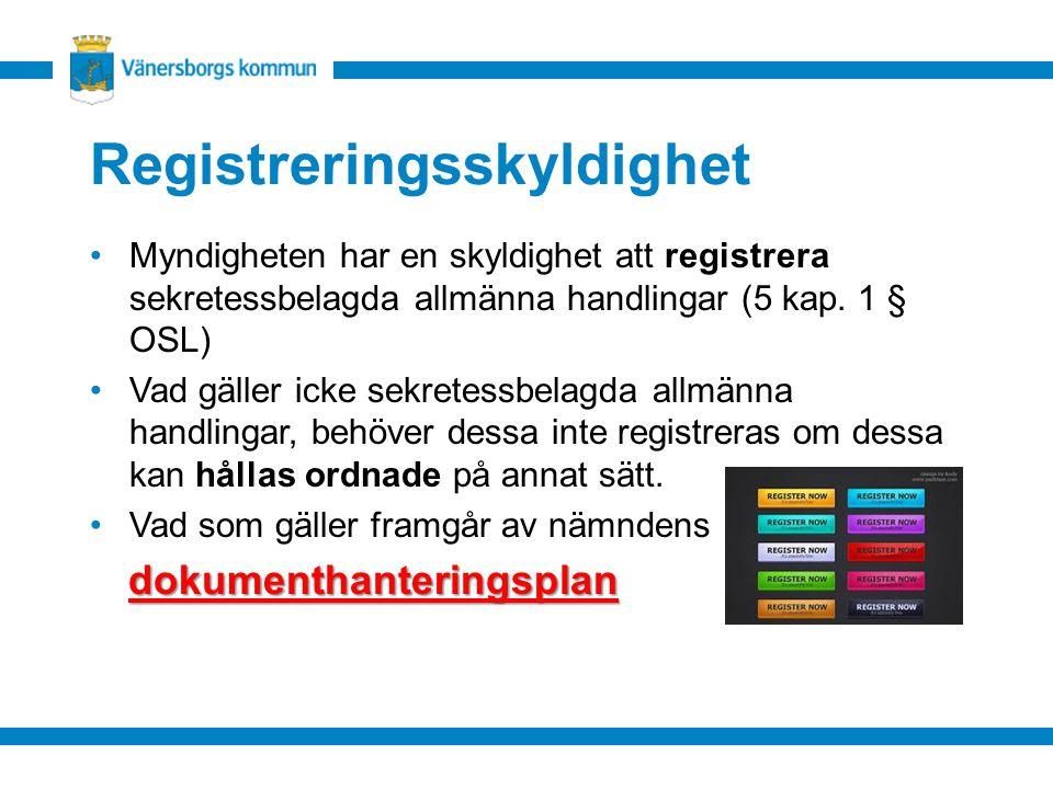 Registreringsskyldighet