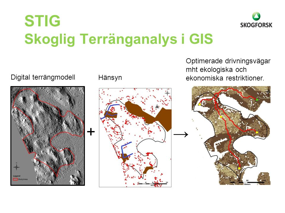 STIG Skoglig Terränganalys i GIS