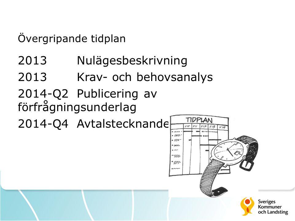 2013 Krav- och behovsanalys