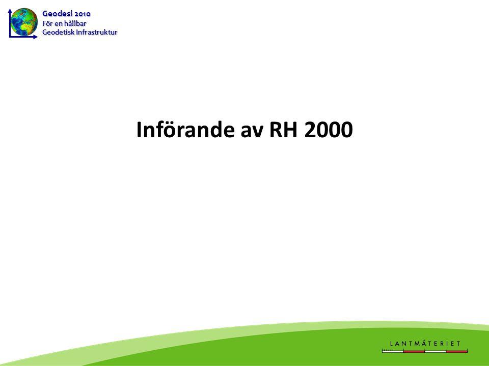 Införande av RH 2000