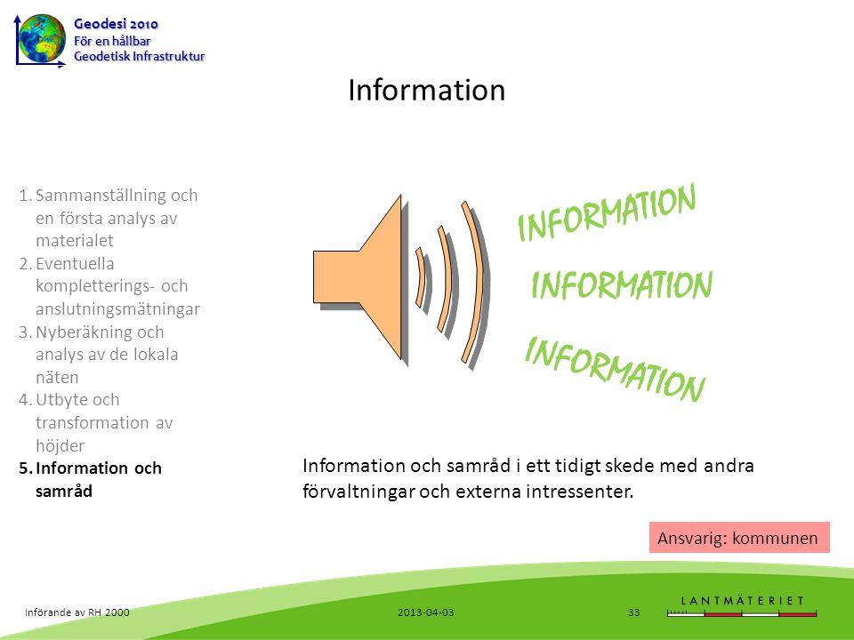 INFORMATION INFORMATION INFORMATION Information