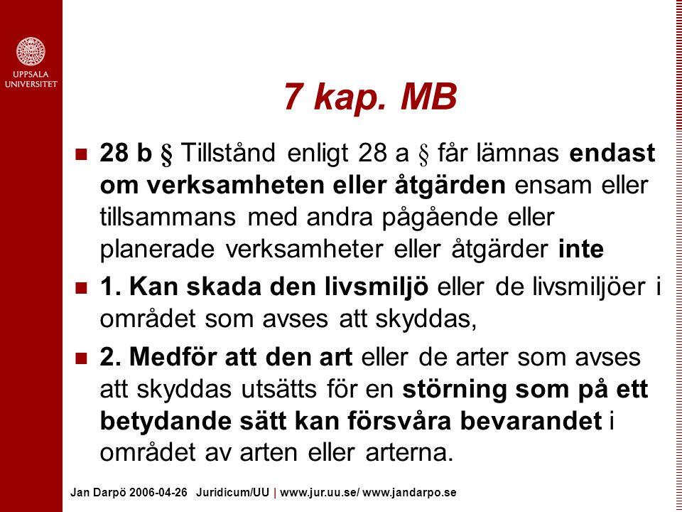 7 kap. MB