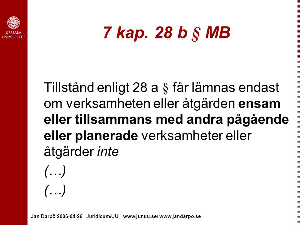 7 kap. 28 b § MB
