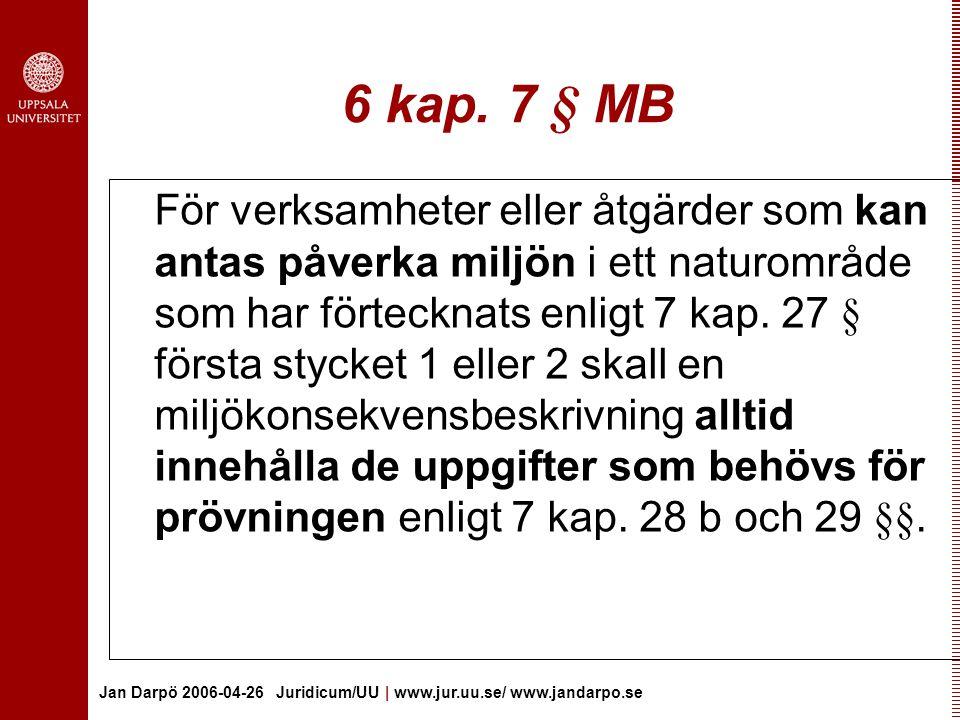 6 kap. 7 § MB
