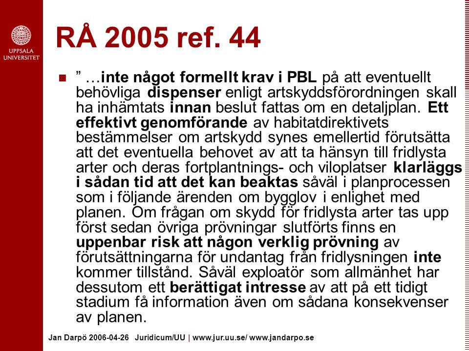 RÅ 2005 ref. 44