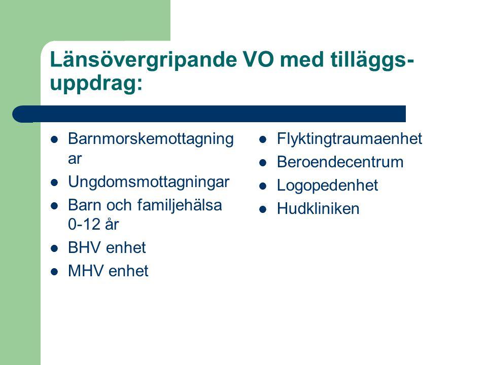 Länsövergripande VO med tilläggs- uppdrag: