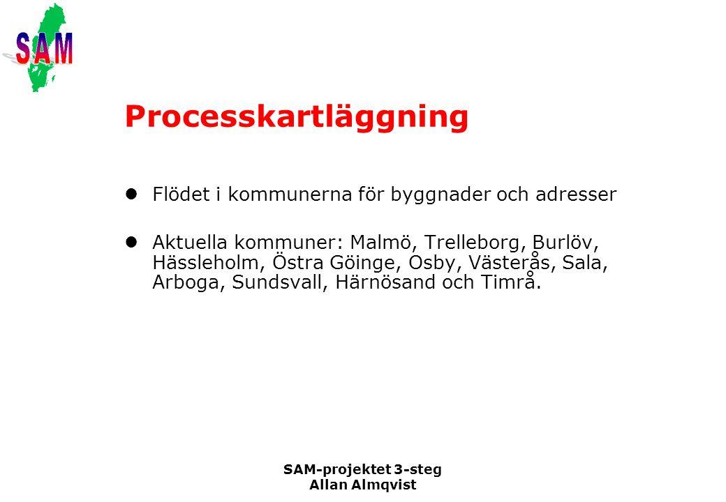 Processkartläggning Flödet i kommunerna för byggnader och adresser