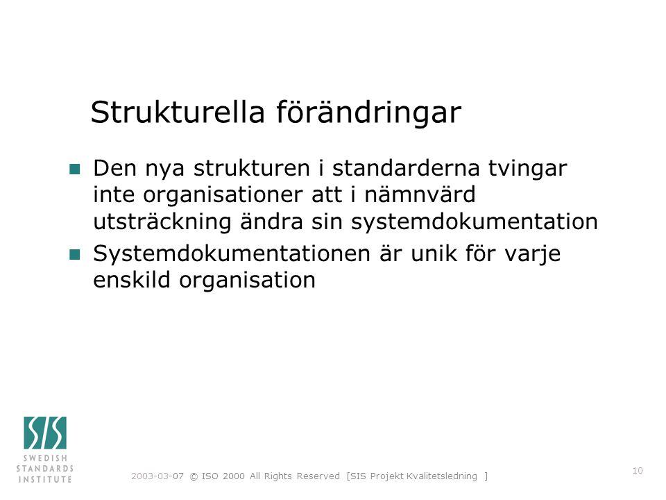Strukturella förändringar