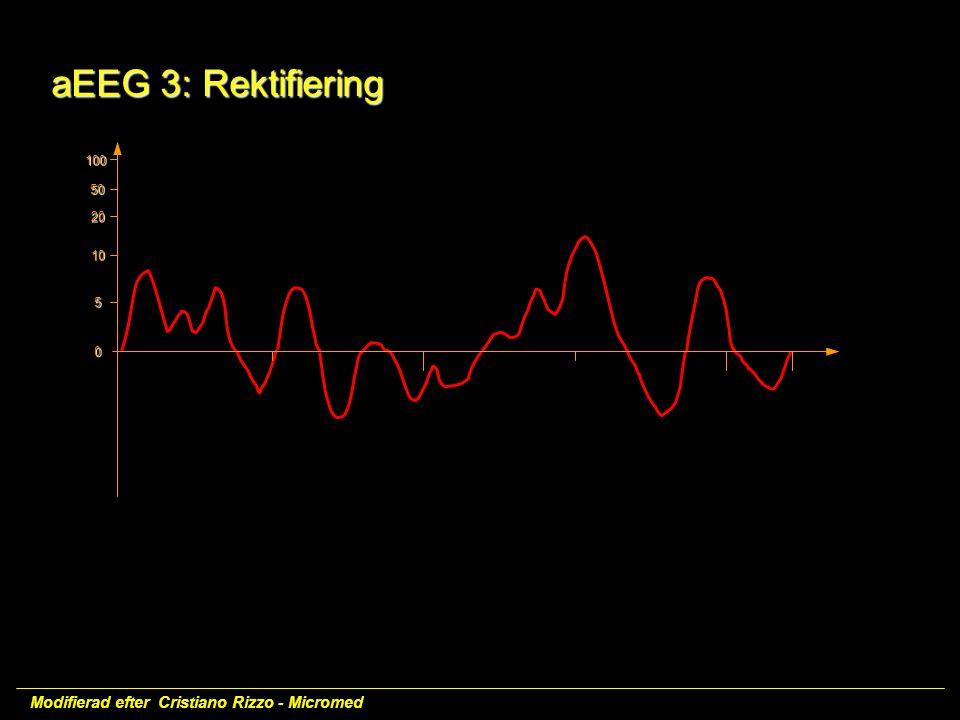 aEEG 3: Rektifiering Modifierad efter Cristiano Rizzo - Micromed 100