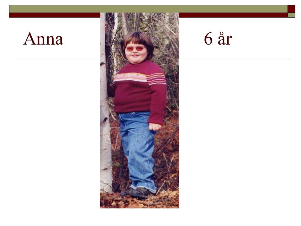 Anna 6 år