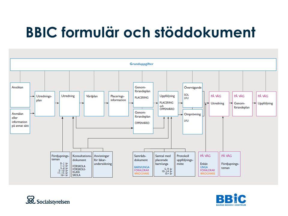 BBIC formulär och stöddokument