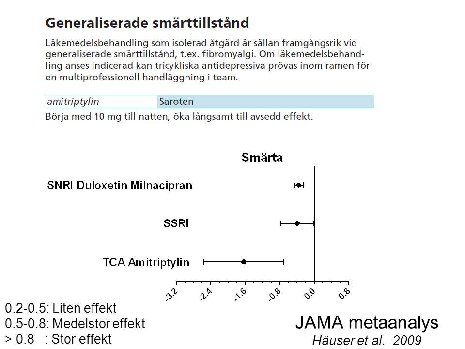 JAMA metaanalys Häuser et al. 2009