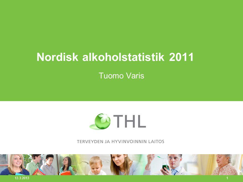 Nordisk alkoholstatistik 2011