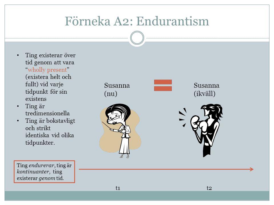 Förneka A2: Endurantism