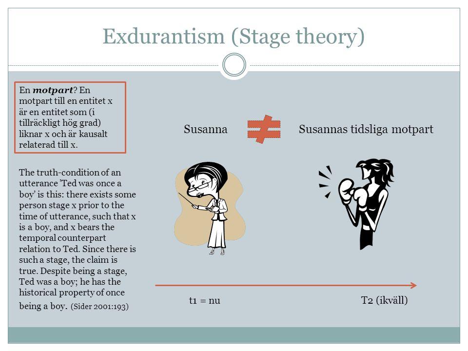 Exdurantism (Stage theory)