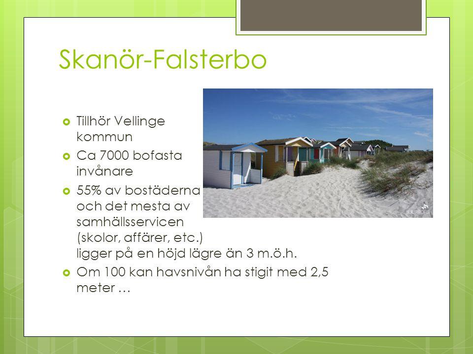 Skanör-Falsterbo Tillhör Vellinge kommun Ca 7000 bofasta invånare
