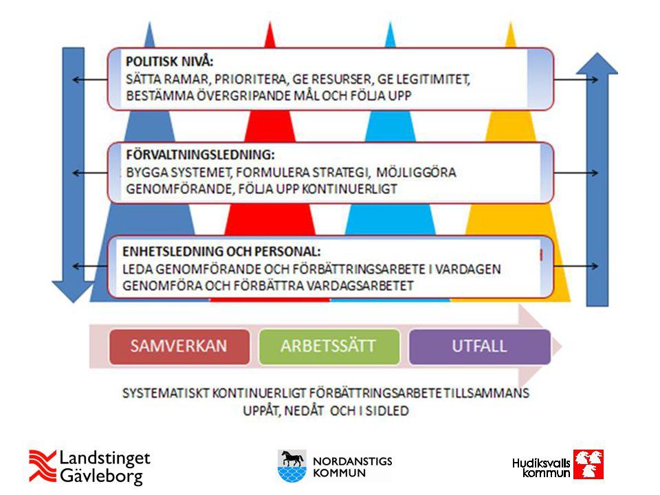 Beskriver komplexiteten och utmaningarna i samverkan- samordning.