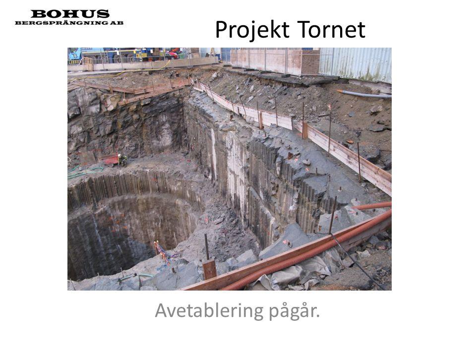 Projekt Tornet Avetablering pågår.